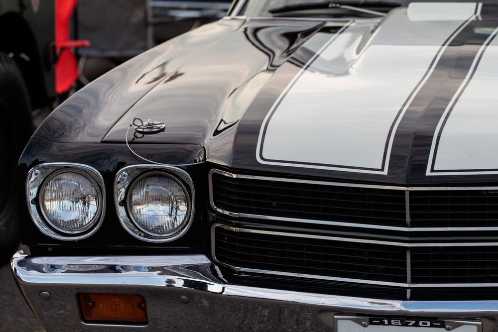 Classic muscle car