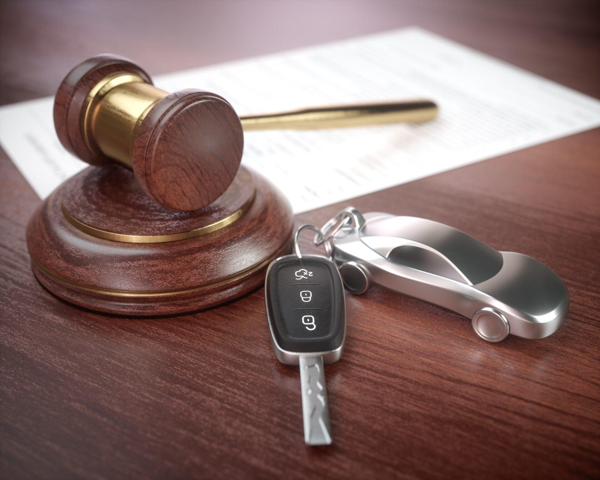 Car Auction Business Concept